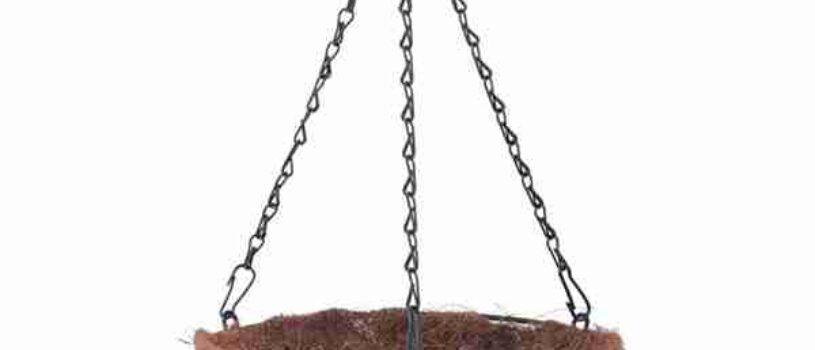 Подвесное кашпо из коковиты 35 см